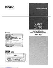 Clarion Xmd2 Wiring Diagram from data2.manualslib.com