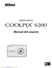 nikon s200 coolpix 7 1 megapixel digital camera manuals rh manualslib com nikon d200 user s guide S200 Car