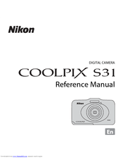 nikon coolpix s31 manuals