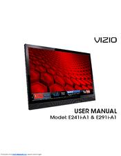 vizio e291i a1 manuals rh manualslib com Vizio GV42L HDTV Vizio Remote Control User Manual