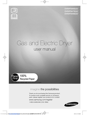 Samsung Dv50f9a6evw A2 Manuals