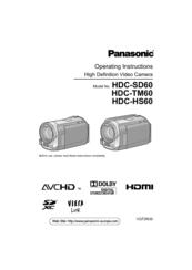 panasonic hdc tm60 manuals rh manualslib com PPR Industries TM60 Camcorder Panasonic HDC TM60