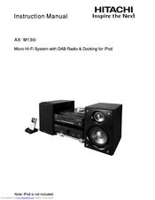 hitachi ax m136i manuals rh manualslib com