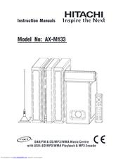 hitachi ax m68 manual