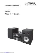 hitachi ax m76 manuals rh manualslib com