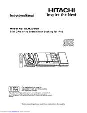 hitachi axm209uk manuals rh manualslib com