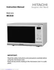 hitachi mcb30 manual