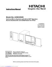 hitachi axm239uk manuals rh manualslib com