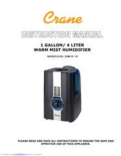 Crane humidifier ee-5949 user guide | manualsonline. Com.