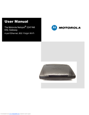 Motorola 2247-62-10NA - Netopia 2247-62 Wireless Router User Manual
