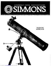 simmons telescope 6450. simmons telescope 6450 manualslib