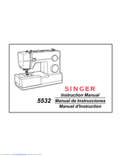 Singer 4423 Instruction Manual