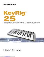 m audio keyrig 25 software download