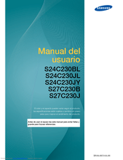Samsung S27C230B Manual Del Usuario
