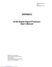 Motorola DSP56012 User Manual