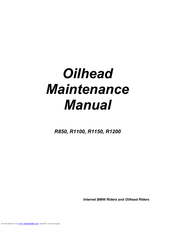 Bmw R1150 Maintenance Manual