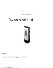 Dell dj ditty hv04t manuals.