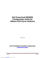 Dell PowerVault MD3000i Configuration Manual