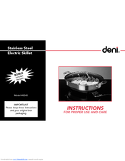 deni food saver user manual