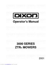 dixon ztr 3303 manuals rh manualslib com Dixon ZTR 3303 Parts Manual PDF dixon ztr 3304 repair manual