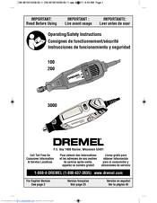 dremel 100 manuals rh manualslib com dremel 300 instruction manual dremel 3000 manual