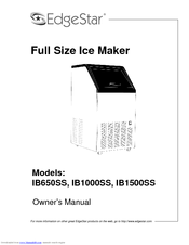 edgestar ib650ss manuals rh manualslib com edgestar ib120ss owners manual edgestar wine cooler owner's manual