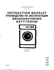electrolux ews 1046 manuals rh manualslib com electrolux zanussi washing machine instruction manual electrolux washing machine instruction manual