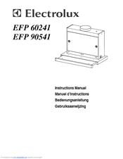 electrolux efp 60241 manuals rh manualslib com aeg electrolux cooker hood instruction manual Electrolux Island Hood