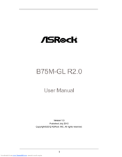 Asrock B75M-GL R2.0 AppCharger Windows 7