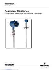 EMERSON ROSEMOUNT 3300 SERIES REFERENCE MANUAL Pdf Download. on