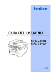 Brother MFC-7840W Manual Del Usuario