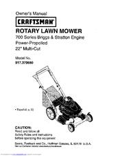 craftsman 917 370680 manuals rh manualslib com Craftsman 6 75 Briggs Stratton Platinum Engine craftsman briggs and stratton platinum 700 series manual