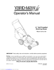 yard man mtd lawn mower manual