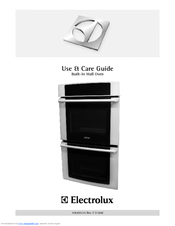 Electrolux EI27EW45KB Use And Care Manual