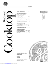 GE JP940 Owner's Manual