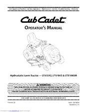 cub cadet ltx 1045 manuals rh manualslib com club cadet ltx1045 owners manual cub cadet ltx 1045 user manual