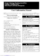 carrier 48tc. carrier 48tc series user\u0027s information manual 48tc f