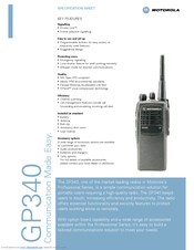 Motorola gp340 manual