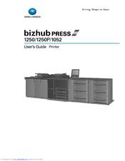 konica minolta bizhub press 1052 manuals rh manualslib com Konica Minolta Bizhub C364 Konica Minolta Bizhub C353