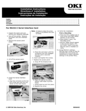 Oki B4600 Series Install Instructions