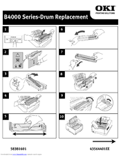 Oki B4600 Series Instructions