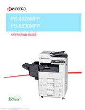 Kyocera fs 6530 mfp инструкция
