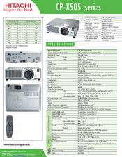 hitachi cpx5 manual