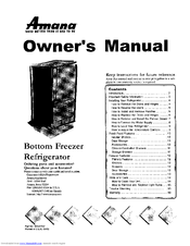 amana arb1917cw parb1917cw1 owner s manual pdf download rh manualslib com amana owner's manual refrigerator Amana Side by Side Manual
