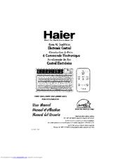 haier hwr12xc5 manuals rh manualslib com User Guide Cover User Guide Template