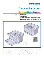 panasonic kv s2026c document scanner manuals rh manualslib com Panasonic KV S1020c Panasonic Scanner Garantee