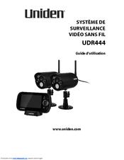 Uniden UDR444 Guide Utilisateur