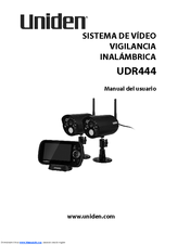 Uniden UDR444 Manual Del Usuario