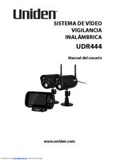 Uniden UDR444 Manual Del Usuario