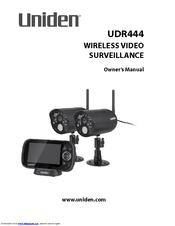 Uniden UDR444 Owner's Manual